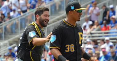 Francisco Cervelli and Jose Osuna