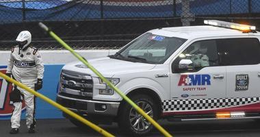 Martinsville Speedway Under Caution