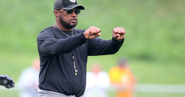 Steelers Head Coach Mike Tomlin