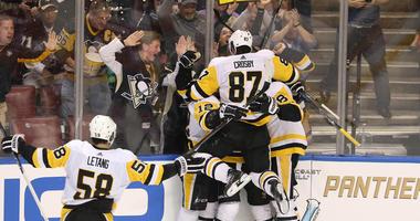 Penguins Captain Sidney Crosby
