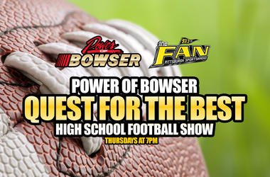 Power of Bowser Quest for the Best High School Football Show on 93.7 The Fan