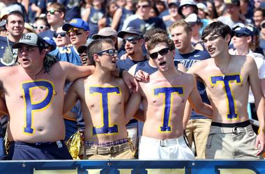Pittsburgh Panthers fans