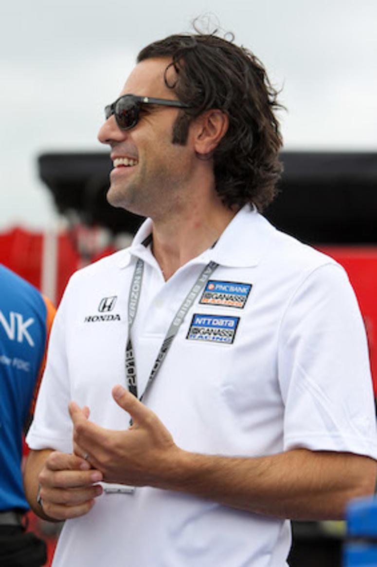 Chip Ganassi Racing's Dario Franchitti