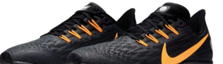 Steelers Team With Nike For The Ultimate Fan Shoe