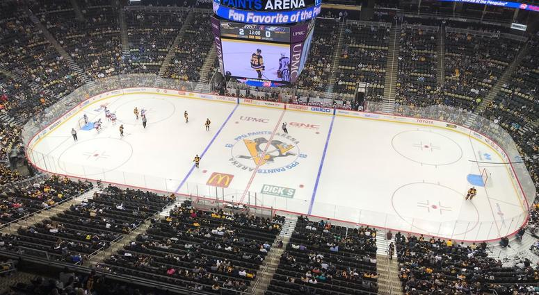The Penguins take on Columbus in the 2018 preseason