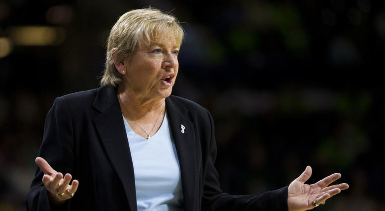 North Carolina coach Sylvia Hatchell