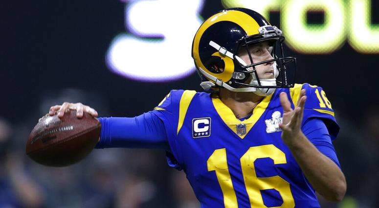 Los Angeles Rams' Jared Goff