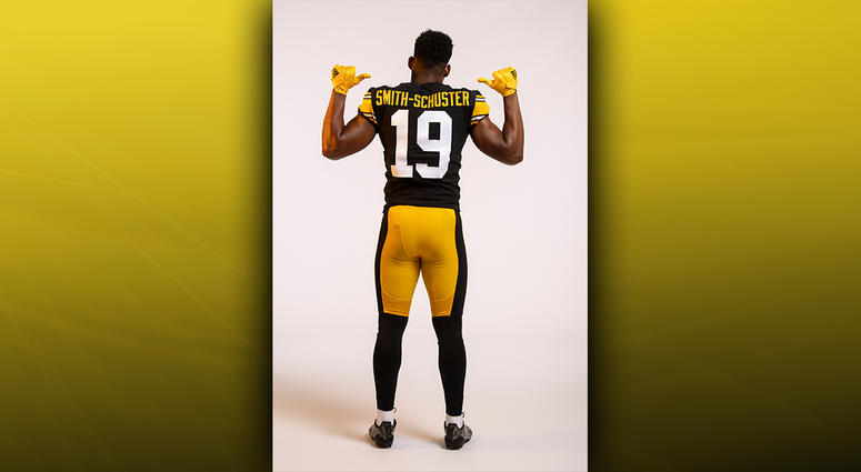 buy online 4d7d5 b495d steelers throwback jersey 2018