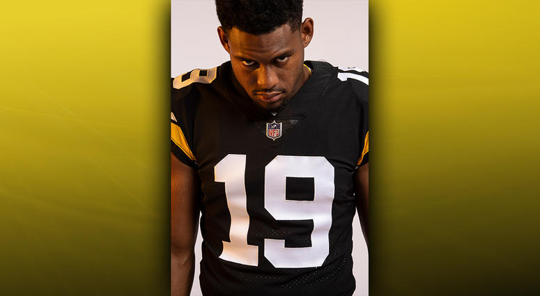 Steelers Throwback Jersey JuJu Smith-Schuster