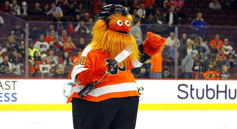 Gritty, Philadelphia Flyers Mascot