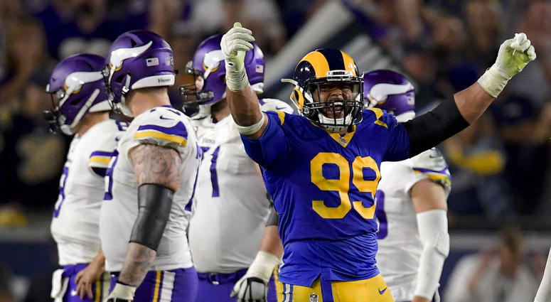 7d5bba687 Rams' Aaron Donald Tops AP Defensive Tackle Rankings Again | 93.7 ...