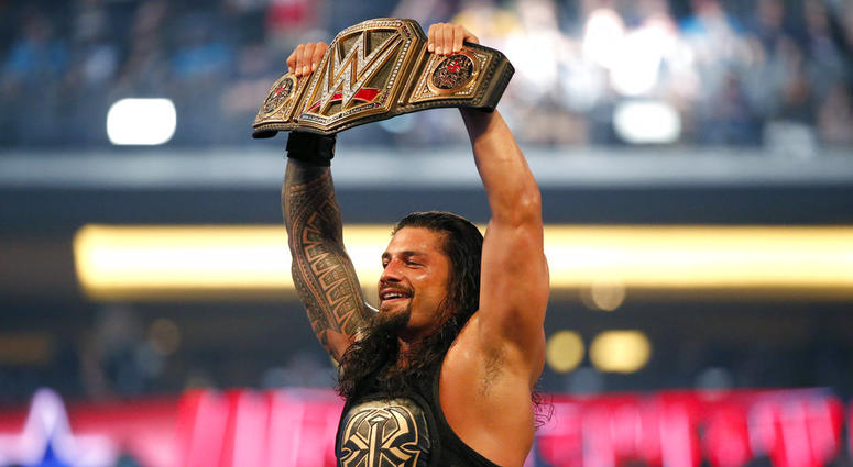 WWE star Roman Reigns