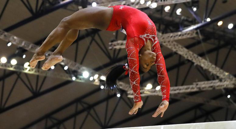 Simone Biles at Gymnastics World Championships