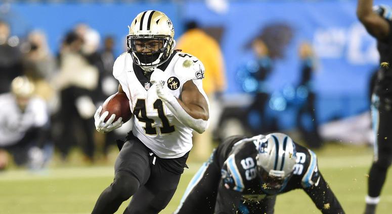 New Orleans Saints' Alvin Kamara