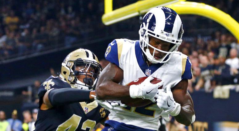 Los Angeles Rams wide receiver Brandin Cooks