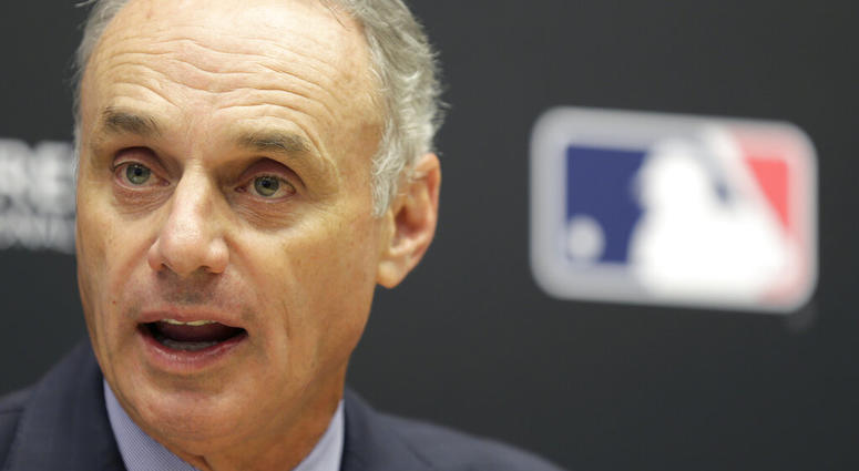 Baseball Commissioner Rob Manfred
