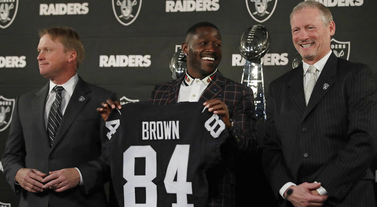 674590d6632 Addition of Antonio Brown  Changed Everything  For Raiders