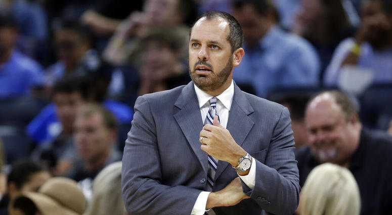 Orlando Magic coach Frank Vogel