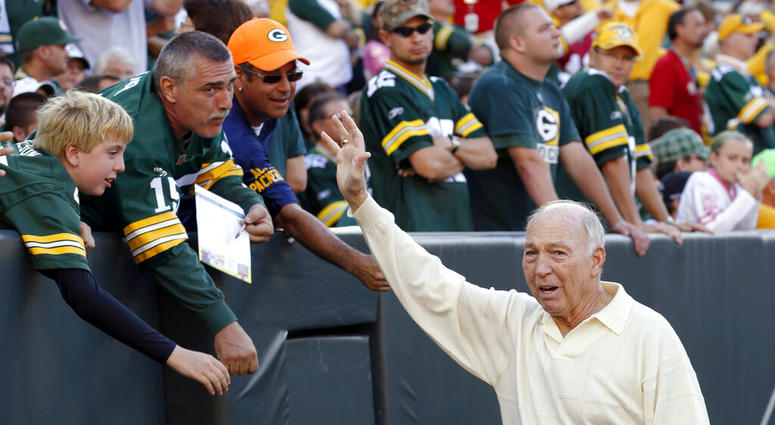 former Green Bay Packers quarterback Bart Starr