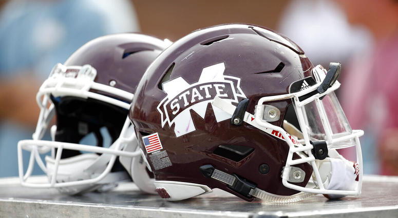 Mississippi State football helmets