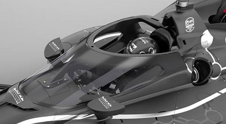 Aeroscreen Cockpit Protection For 2020 IndyCar