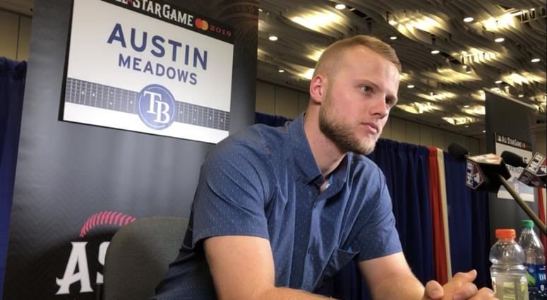 newest 601ab 7e6a7 Austin Meadows Reflects on his Big League Journey | 93.7 The Fan