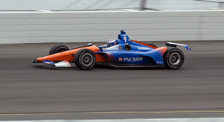 Scott Dixon's No. 9 PNC Bank Chip Ganassi Racing Honda