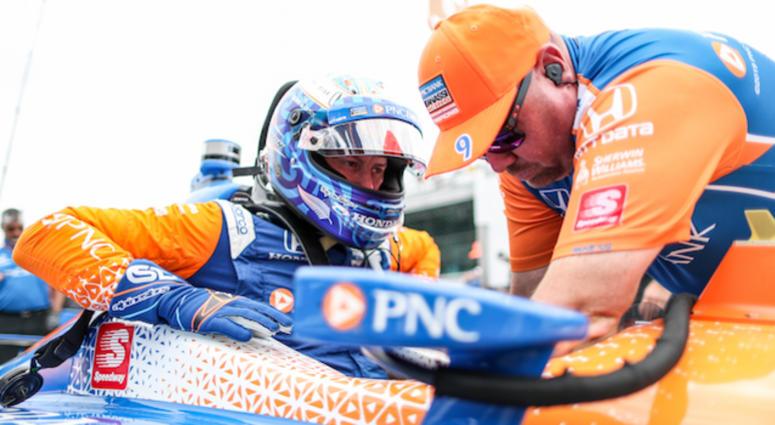 Chip Ganassi Racing's Scott Dixon's No. 9 PNC Bank Honda For Indianapolis 500