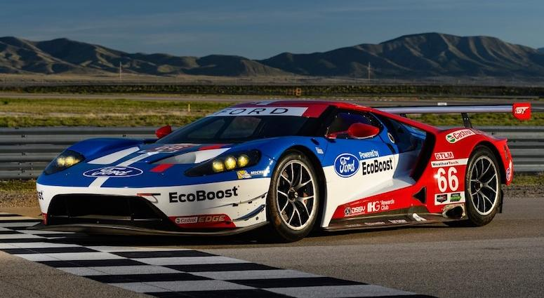 No. 66 Ford Chip Ganassi Racing Ford GT