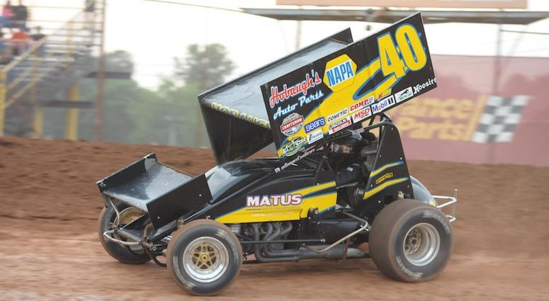 George Hobaugh Sprint Car At Lernerville