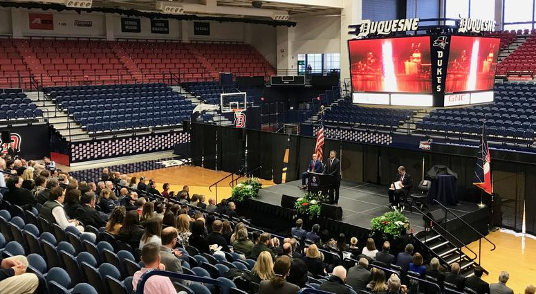 Duquesne's AJ Palumbo Center in 2018