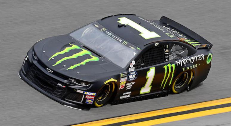 Kurt Busch's No. 1 Monster Energy Chip Ganassi Racing Chevrolet Camaro