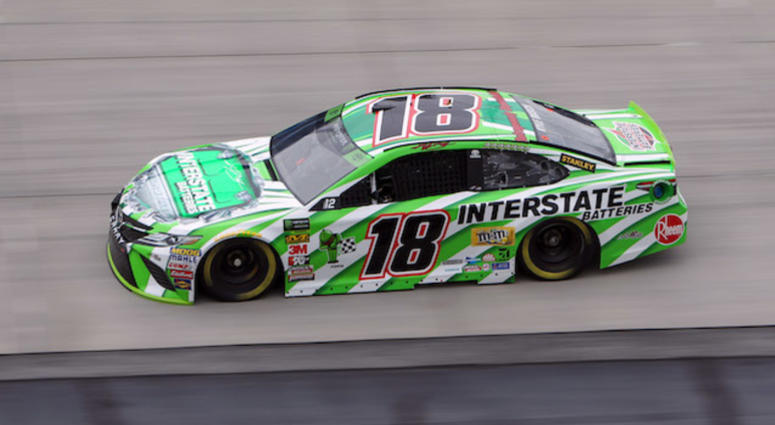 Kyle Busch Joe Gibbs Racing No. 18 Interstate Batteries Toyota Camry