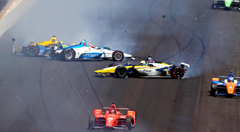 How Many Laps In Indy 500 >> Disappointing Indy 500 For Chip Ganassi Racing 93 7 The Fan