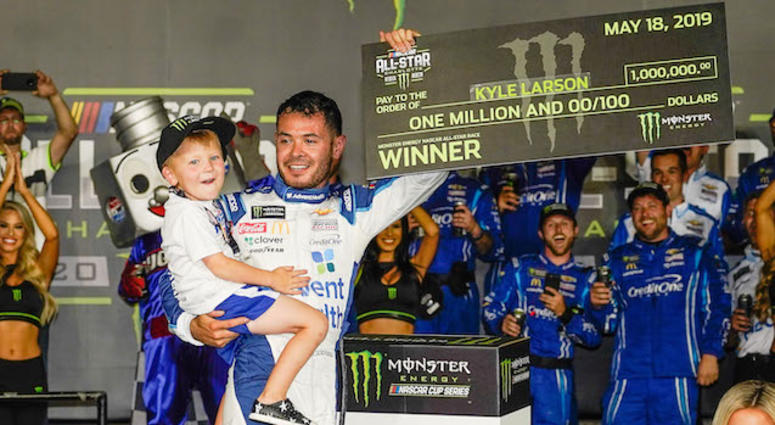 Chip Ganassi Racing's Kyle Larson Wins NASCAR All-Star Race In Charlotte