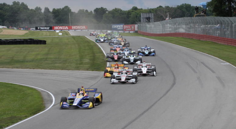 Mid Ohio Sportscar Course >> Indycar Invades Mid Ohio Sports Car Course 93 7 The Fan