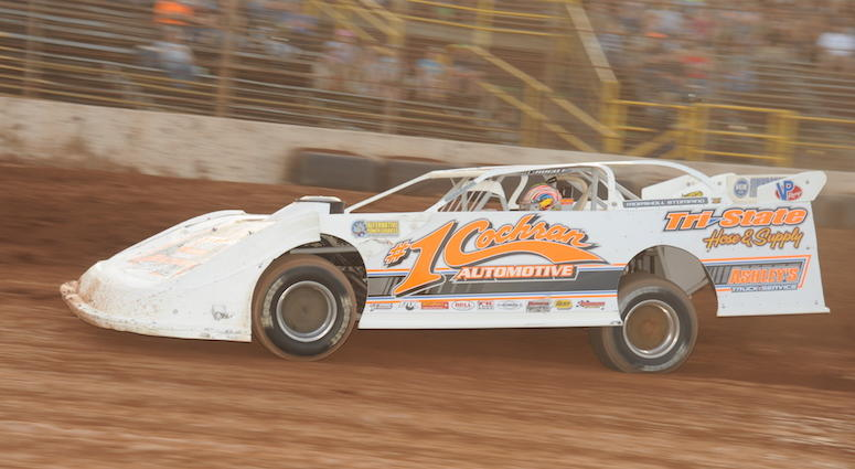Mike Pegher Jr. Late Model Stock Car