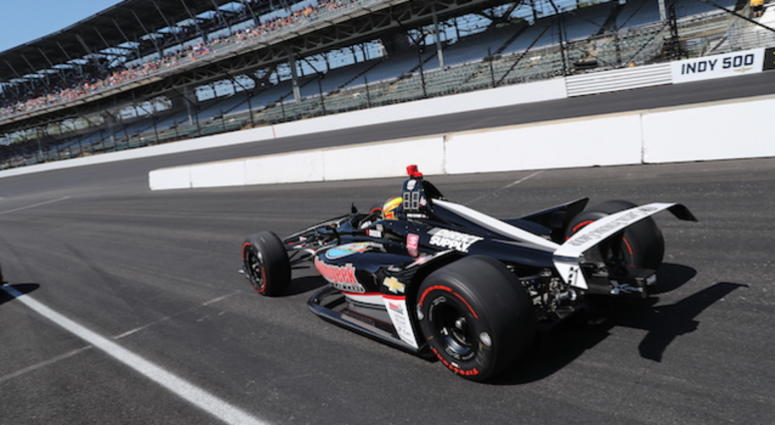 Spencer Pigot's Ed Carpenter Racing's Chevrolet At Indy