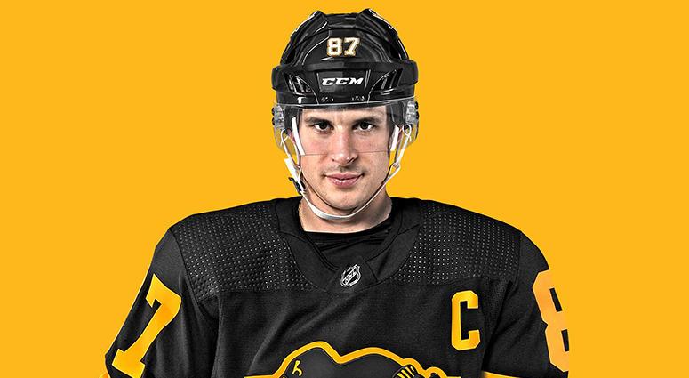 Pittsburgh Penguins' 2019 Stadium Series Game Jersey
