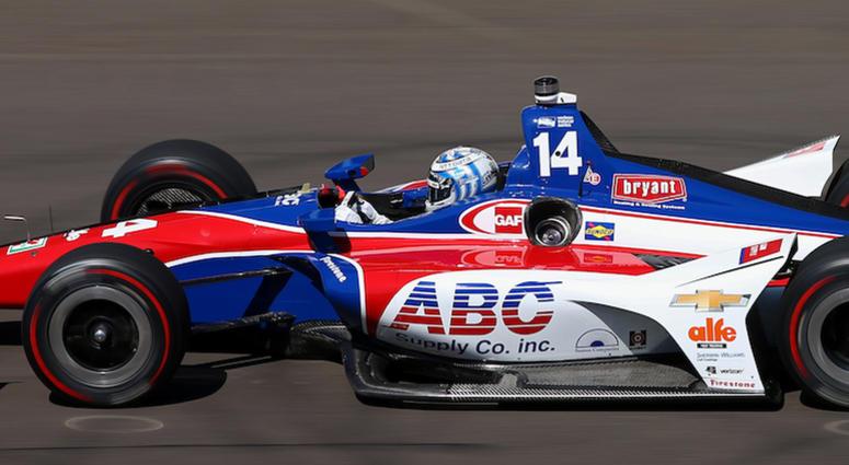 Tony Kanaan No. 14 ABC Supply A.J. Foyt Racing Chevrolet