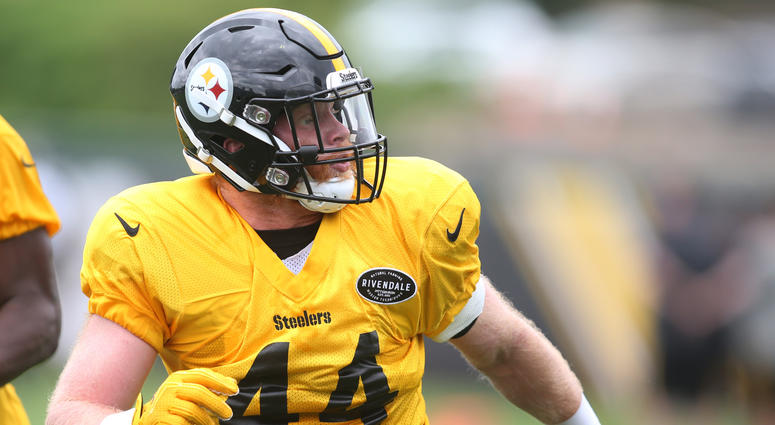 3c5b1835dea Pittsburgh Steelers linebacker Tyler Matakevich (44) participates in drills  during minicamp at UPMC Rooney
