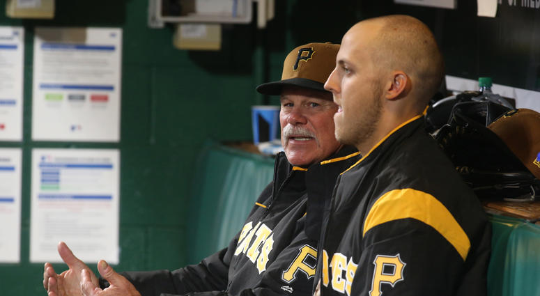 Ray Searage with Jameson Taillon