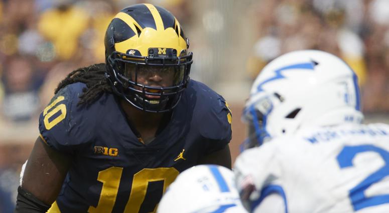 Michigan linebacker Devin Bush