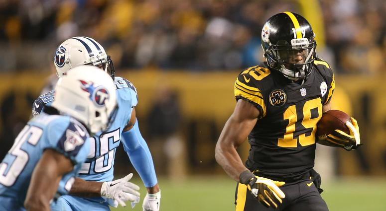 buy popular 00cb4 7c4e9 Steelers To Wear 'Color Rush' Jerseys November 8 Against ...