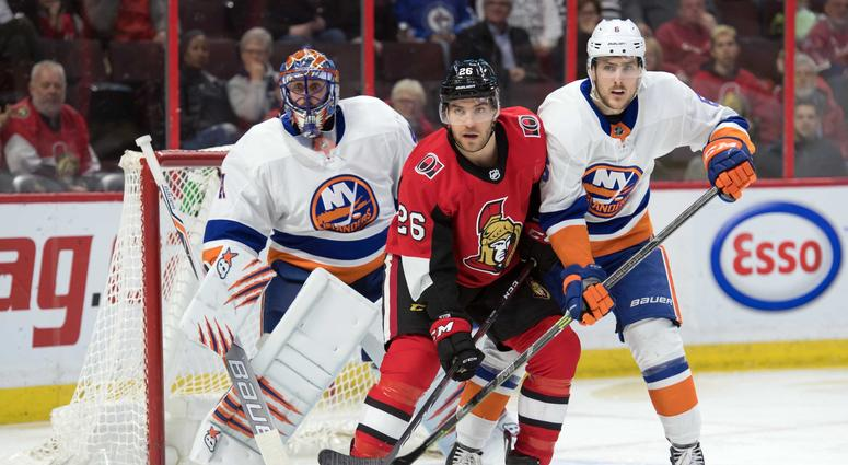 Ottawa Senators center Ben Sexton (26)