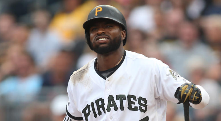 Pirates OF Gregory Polanco During Game on