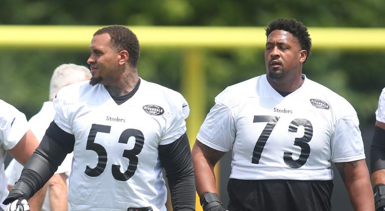 Maurkice Pouncey and Ramon Foster