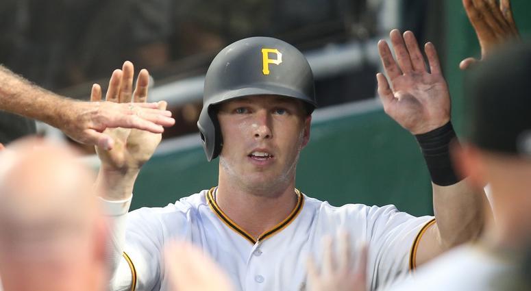 Pittsburgh Pirates left fielder Corey Dickerson