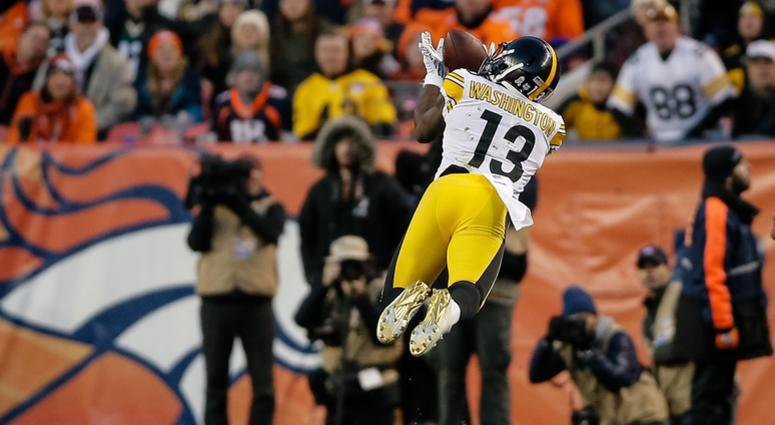 Steelers Receiver James Washington