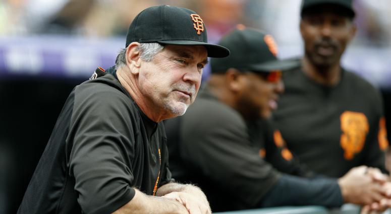 San Francisco Giants manager Bruce Bochy
